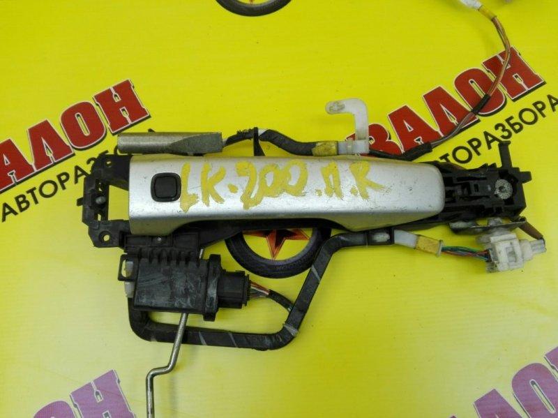 Ручка двери внешняя Toyota Land Cruiser 200 VDJ200 1VD-FTV 2010 передняя правая