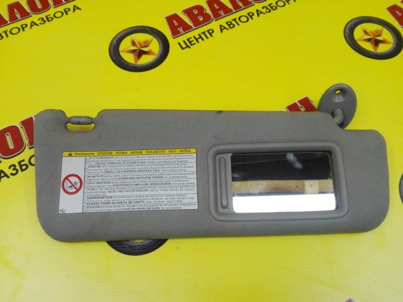 Козырек солнцезащитный Toyota Camry ASV50 2AR-FE 2012 правый