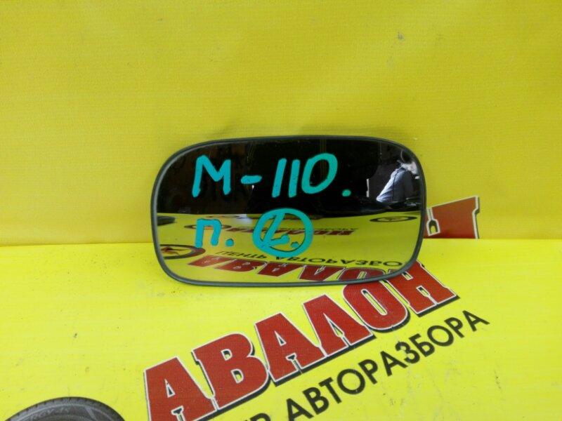 Зеркало-полотно Toyota Mark Ii JX110 1G-FE 2002 левое