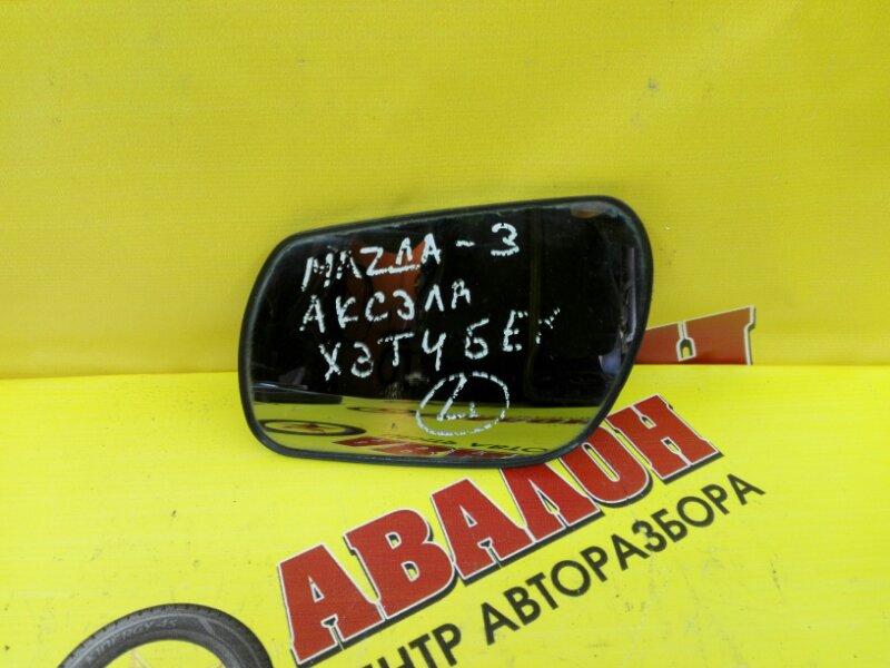Зеркало-полотно Mazda 3 BK LF 2006 левое