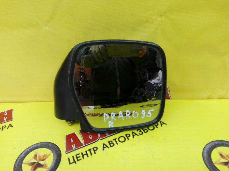 Зеркало-полотно Toyota Land Cruiser Prado RZJ95W 3RZ-FE 1993 правое