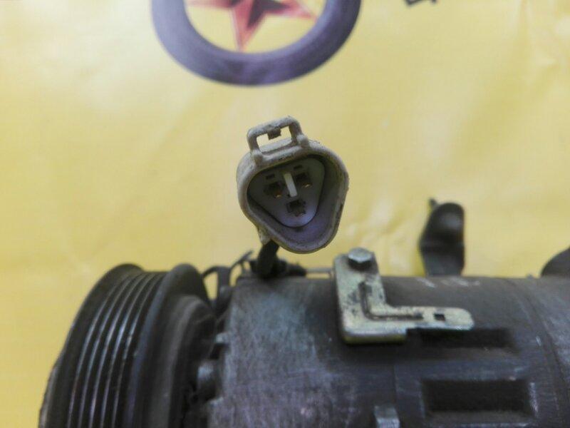 Компрессор кондиционера Toyota Vitz SCP10 1SZ-FE 2001