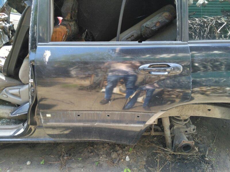 Дверь боковая Toyota Land Cruiser 100 UZJ100 2UZ-FE 2007 задняя левая