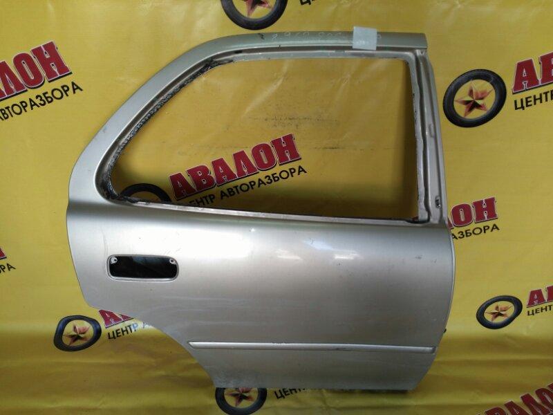 Дверь боковая Toyota Camry SXV10 5S-FE 1996 задняя правая