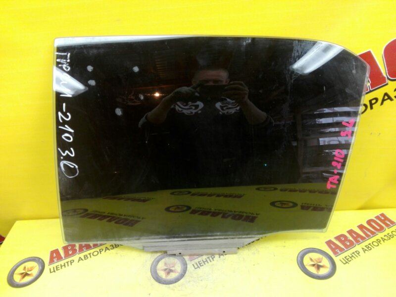 Боковое стекло Toyota Premio AT211 7A-FE 2000 заднее левое