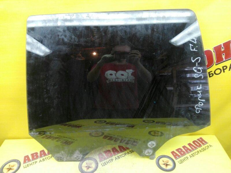 Боковое стекло Subaru Forester SG5 EJ201 2002 заднее левое