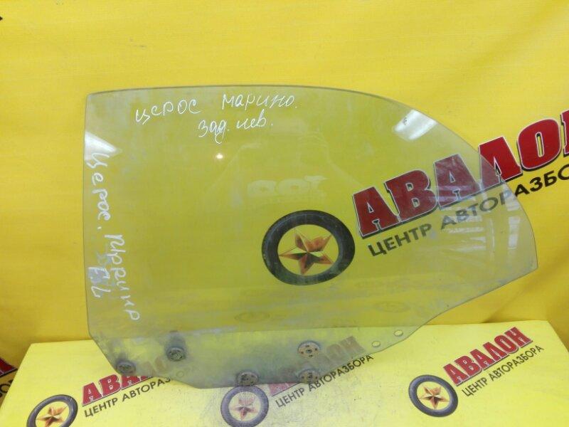 Боковое стекло Toyota Ceres AE100 5A-FE 1999 заднее левое