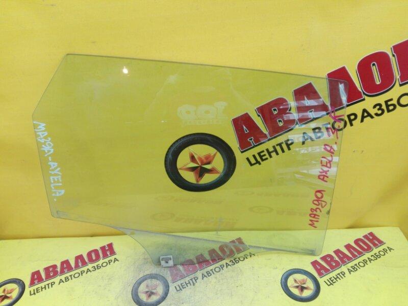 Боковое стекло Mazda Axela BK LF-VE 2007 заднее правое
