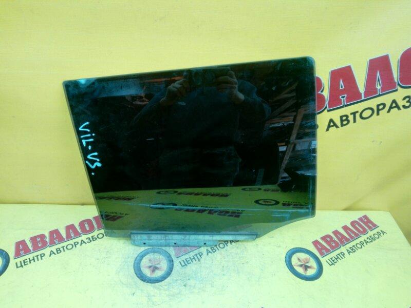 Боковое стекло Toyota Will Vs TA-NZE127 1ZZ-FE 2002 заднее правое