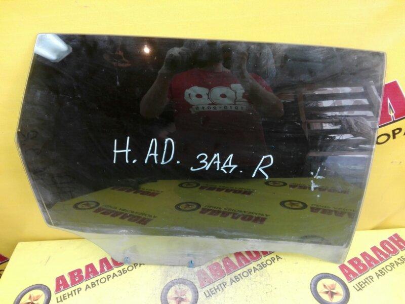 Боковое стекло Nissan Ad Y11 QJ15 2000 заднее правое