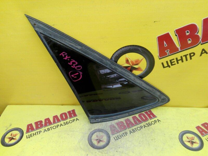 Стекло собачника Lexus Rx330 MCU33 3MZ-FE 2006 левое