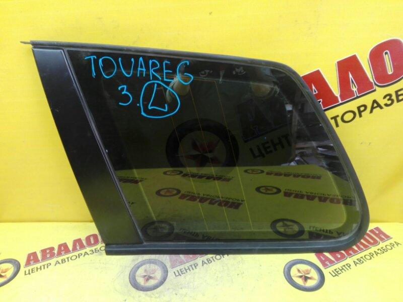 Стекло собачника Volkswagen Touareg 7LA BAC 2006 левое