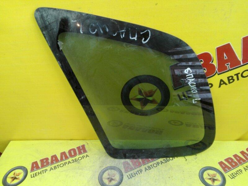 Стекло собачника Toyota Spacio AE110 4A-FE 1999 левое