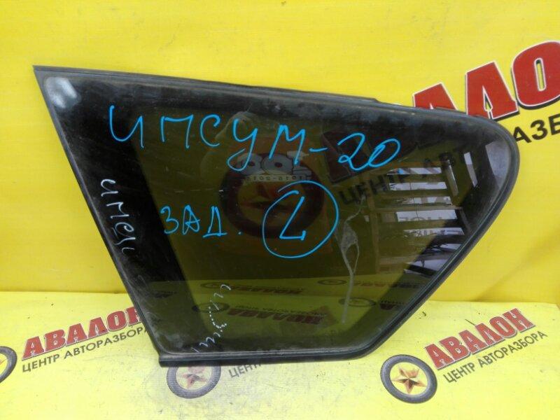 Стекло собачника Toyota Ipsum ACM21 2AZ-FE 2004 левое
