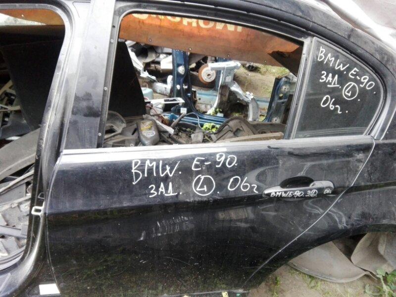 Дверь боковая Bmw 323 E90 N46B20 2006 задняя левая