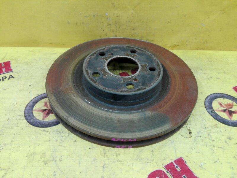 Тормозной диск Toyota Camry ACV40 2AZ-FE 2007 передний