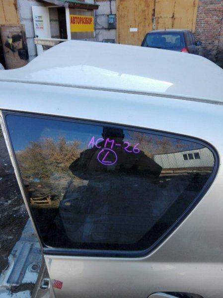 Стекло собачника Toyota Ipsum ACM26 2AZ-FE 2002 заднее левое