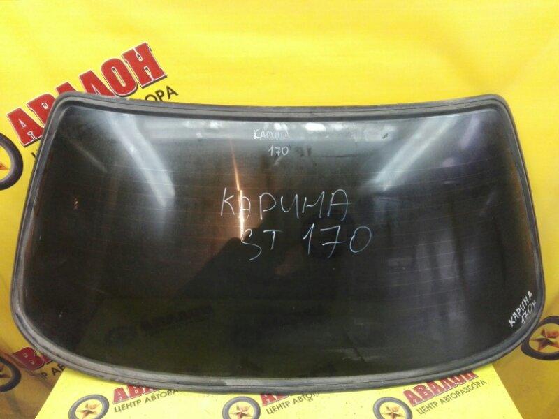 Стекло заднее Toyota Carina ST170 4S-FE 1989