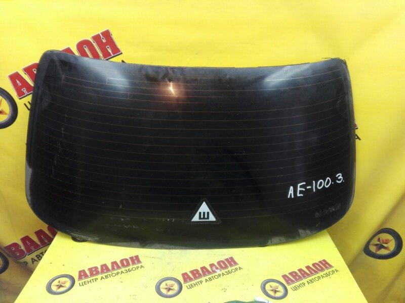 Стекло заднее Toyota Corolla AE100 4E-FE 1993