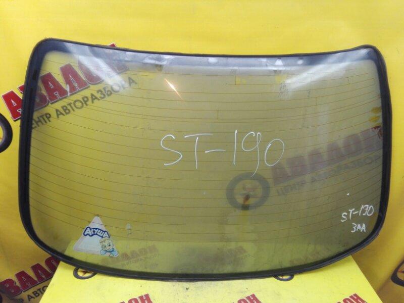 Стекло заднее Toyota Corona ST190 4S-FE 1993