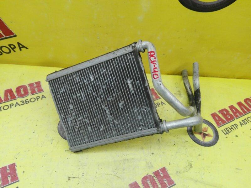 Радиатор печки Toyota Camry ACV40 2AZ-FE 2007
