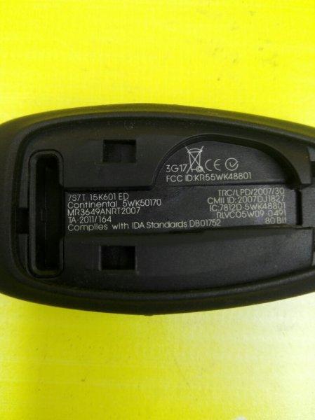 Ключ зажигания . смарт ключ. Ford Focus 3 CB8 XQDA 2013