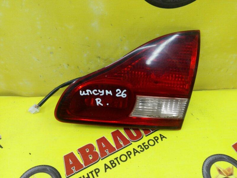 Стоп в крышку багажника Toyota Ipsum ACM26 2AZ-FE 2005 задний правый