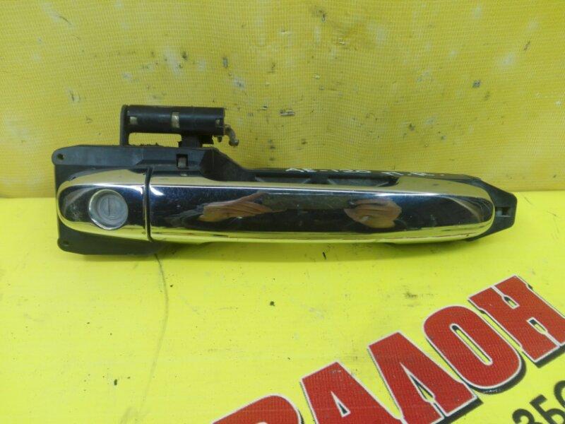 Ручка двери внешняя Toyota Allex NZE121 1NZ-FE 2004 передняя правая