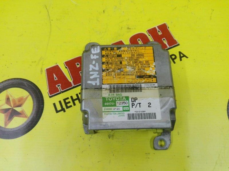 Блок управления airbag Toyota Allex NZE121 1NZ-FE 2004