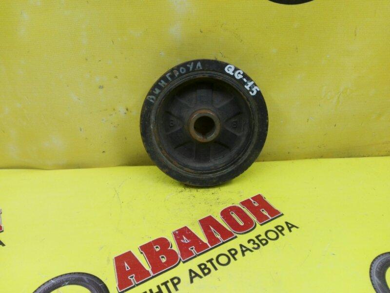 Шкив коленвала Nissan Wingroad Y11 QJ15 2001