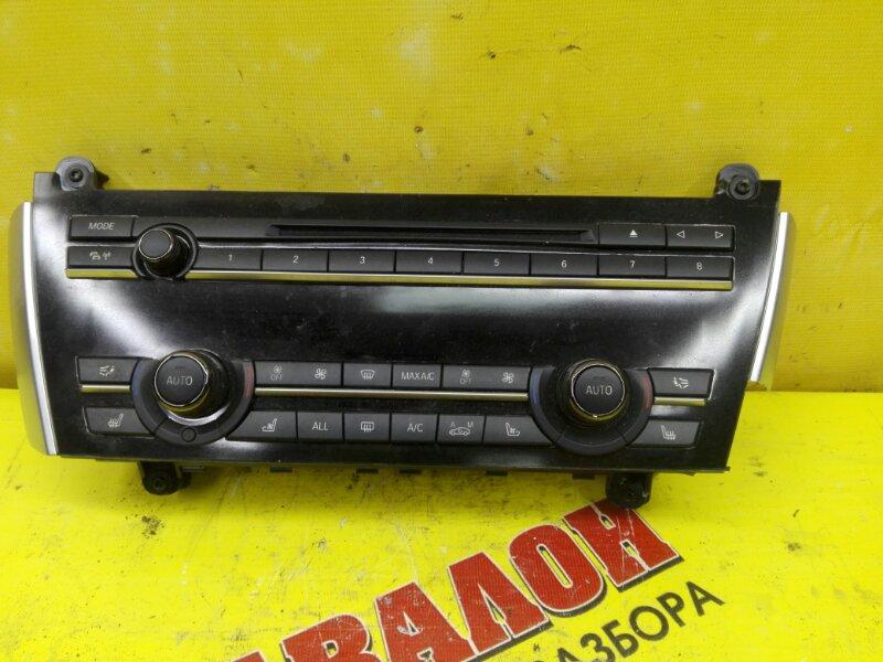 Блок управления климат-контролем Bmw Bmw 5-Series Gran Turismo F07 N57D30 2012