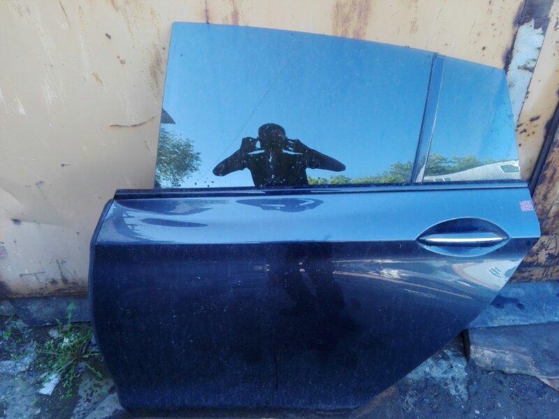 Дверь боковая Bmw Bmw 5-Series Gran Turismo F07 N57D30 2012 задняя левая