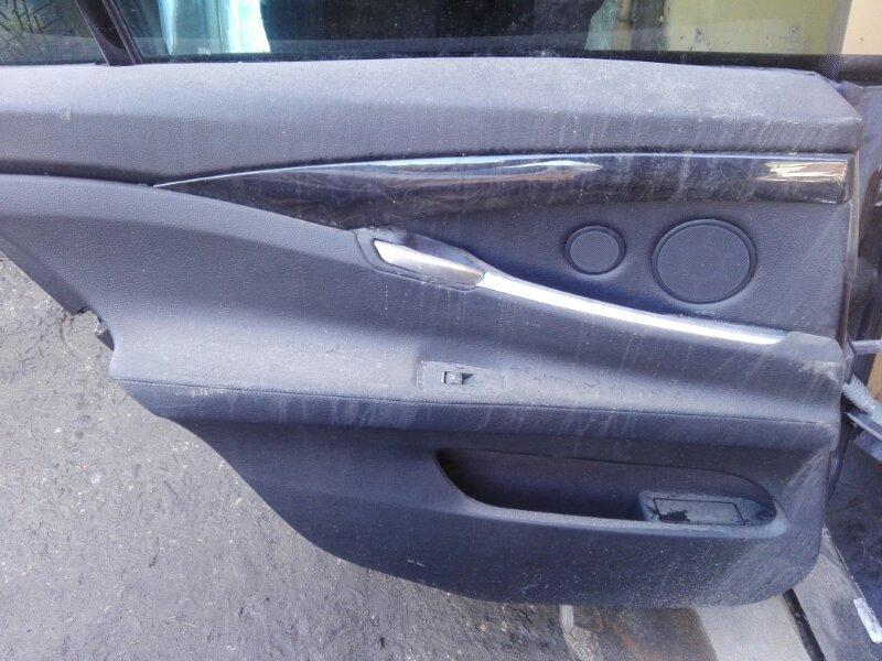 Обшивка двери Bmw Bmw 5-Series Gran Turismo F07 N57D30 2012 задняя левая