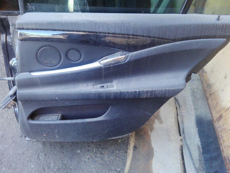 Обшивка двери Bmw Bmw 5-Series Gran Turismo F07 N57D30 2012 задняя правая
