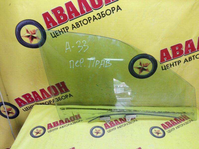 Боковое стекло Nissan Cefiro A33 VQ20DD 2000 переднее правое