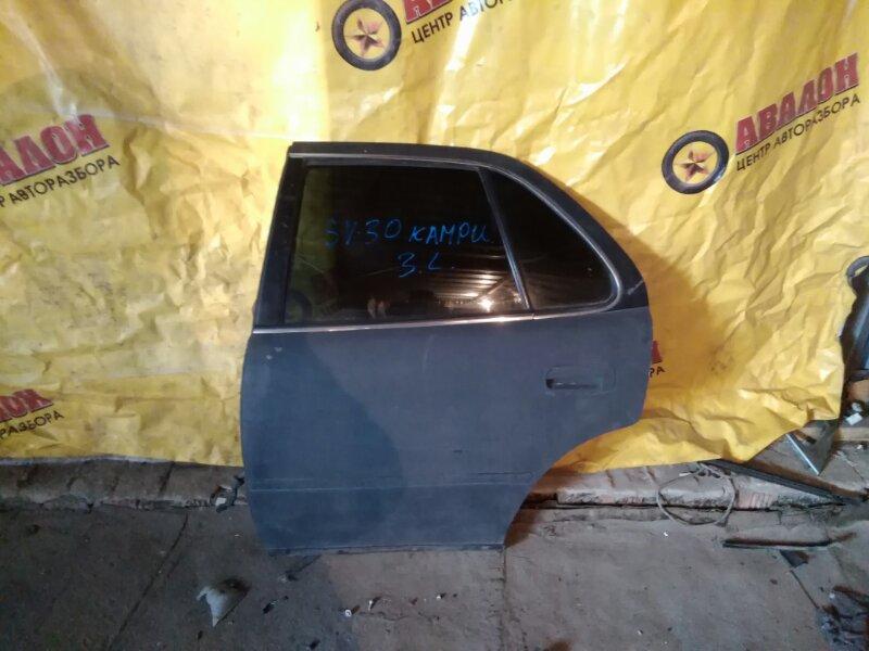Дверь боковая Toyota Camry SV30 задняя левая