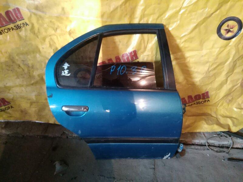 Дверь боковая Nissan Primera P10 задняя правая