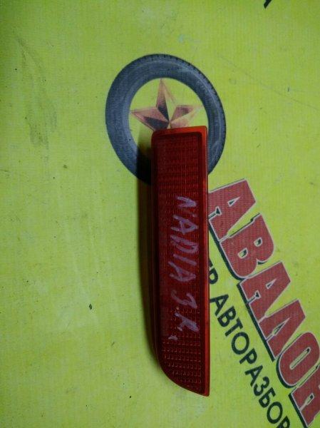 Катафот в бампер Toyota Nadia ACN10 задний правый