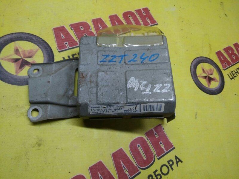 Блок управления парковкой Toyota Premio ZZT240