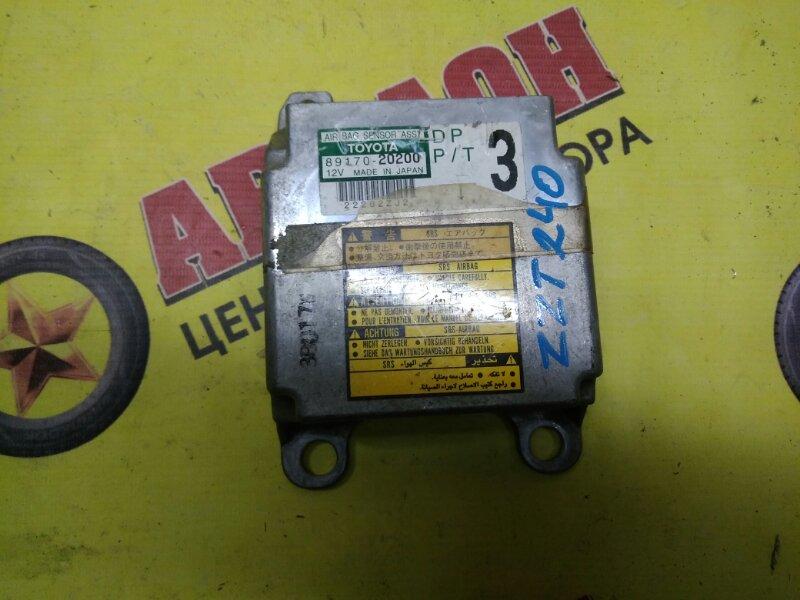Блок управления airbag Toyota Premio ZZT240