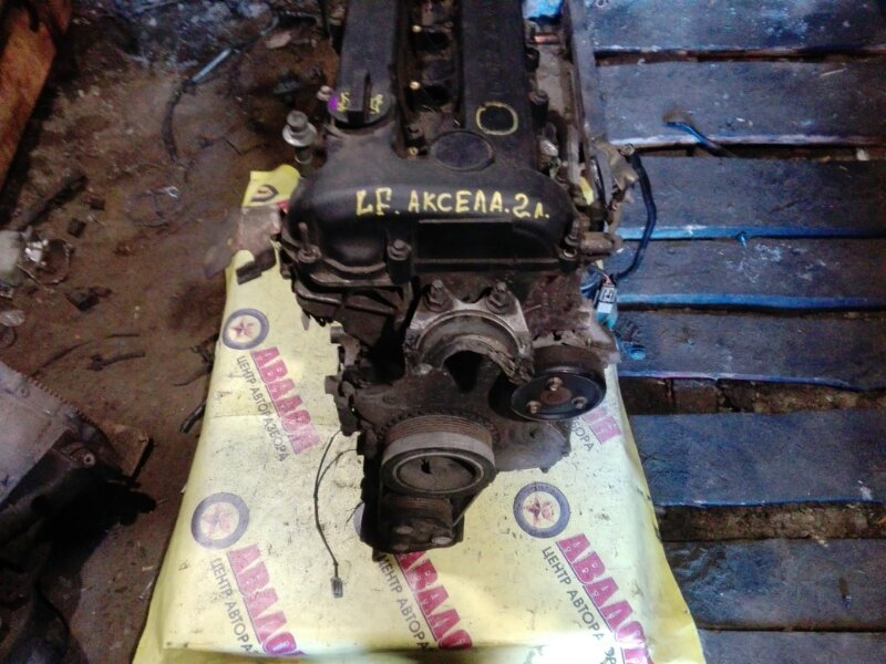 Двигатель в сборе Mazda Axela BK LF-VE 2007