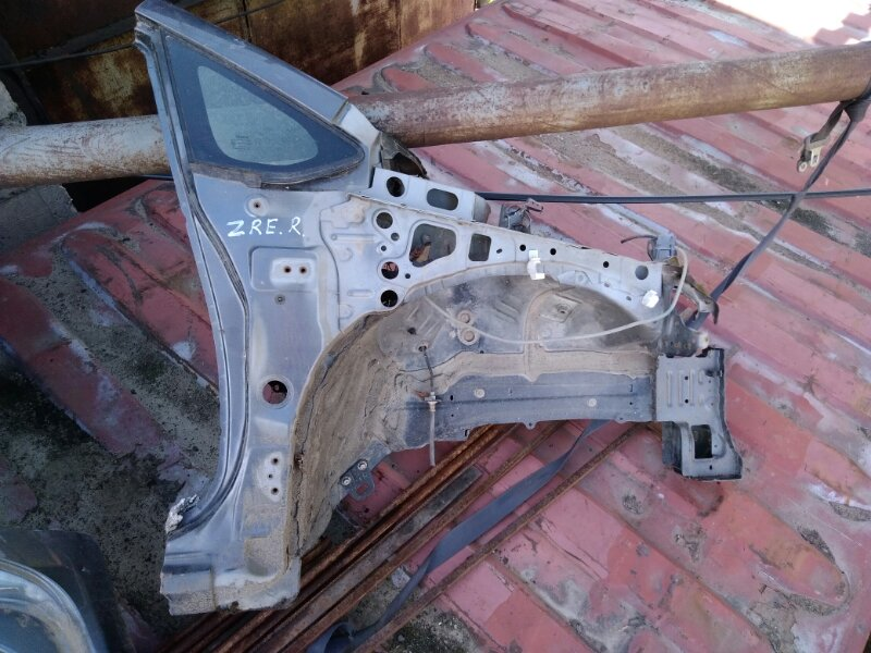 Лонжерон Toyota Auris ZRE151 передний правый