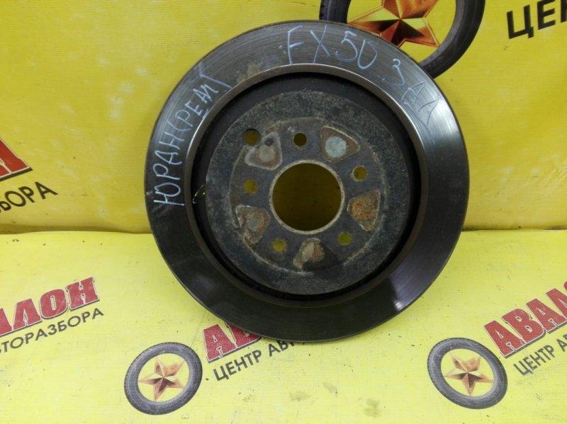 Тормозной диск Infiniti Fx-35 S51 VQ 35 HR 2005 задний