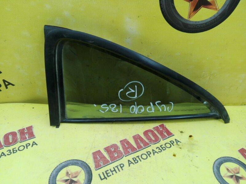 Форточка двери Toyota Hilux Surf KZN185 1KZ-TE 2000 правая