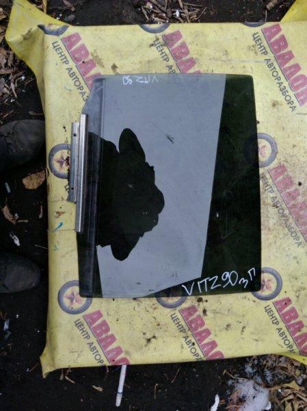 Боковое стекло Toyota Vitz NCP90 заднее правое