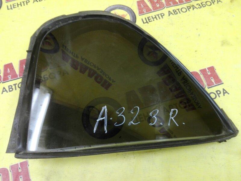 Форточка двери Nissan Cefiro A32 задняя правая