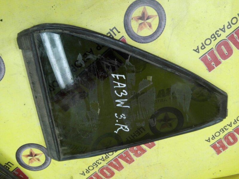 Форточка двери Mitsubishi Legnum EA3W задняя правая