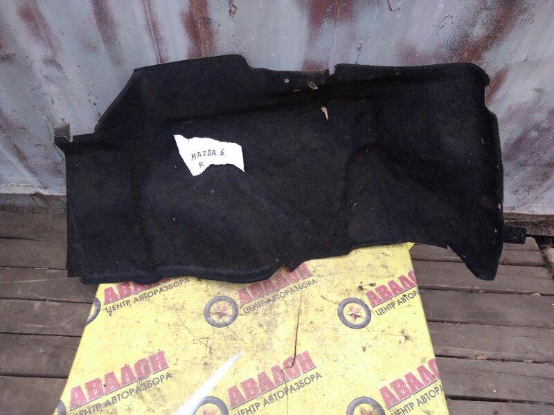 Обшивка багажника Mazda 6 GH LF 2008 правая