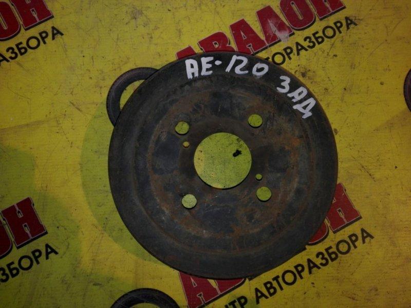 Тормозной барабан Toyota Corolla NZE121 1NZ-FE 2001 задний