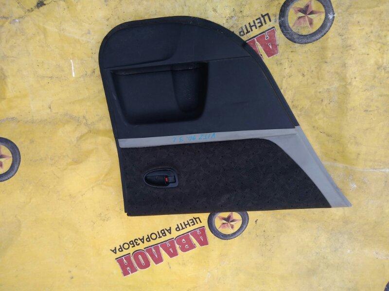 Обшивка двери Toyota Vitz NCP90 задняя левая